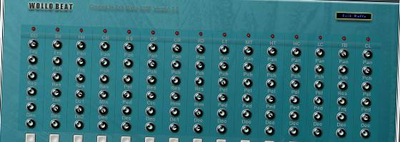 Beat Making Software Wollo Beat free VST Drum Machine