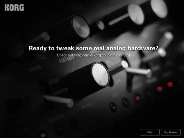 Korg Monotribe analoge Rhythmusmaschine