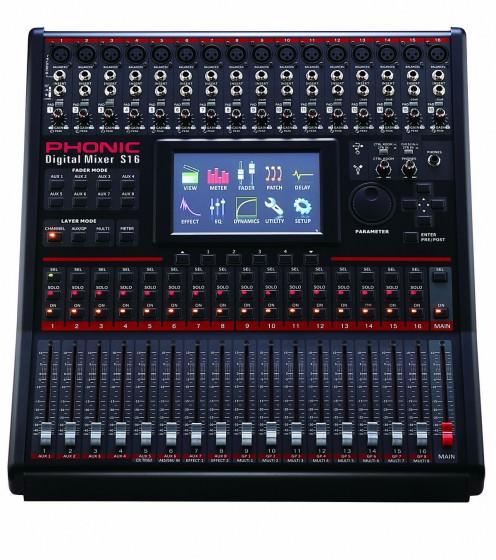 Phonic s16 Digitalmixer