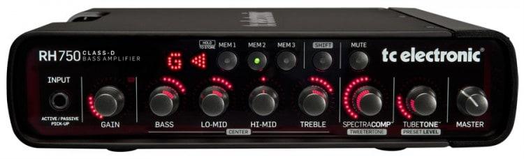 TC Electronic RH750 Digitaler Bassverstärker