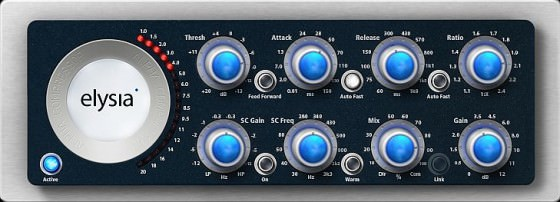 elysia alpha compressor Testbericht: Mix-Version