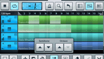 FL Studio mobile - Sequenzer