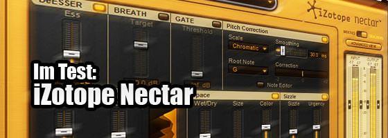iZotope Nectar Testbericht des Vocal Strip Plugins