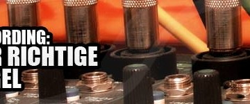 Recording: Der richtige Pegel