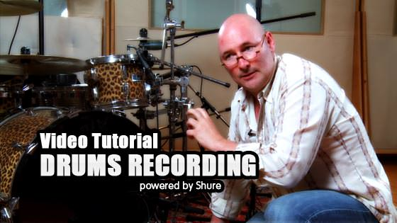 Shure Drums Recording Tutorial
