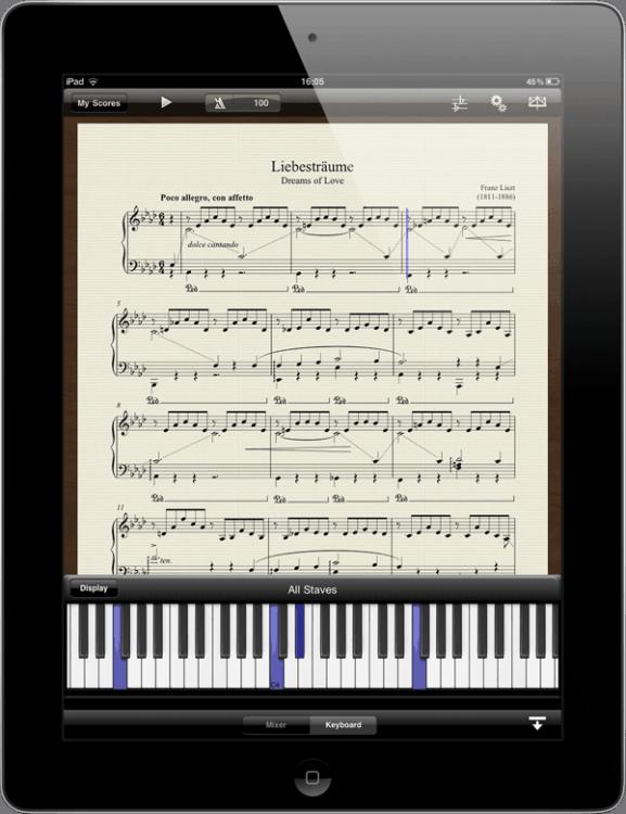 Notationssoftware für das Apple iPad - Avid Scorch