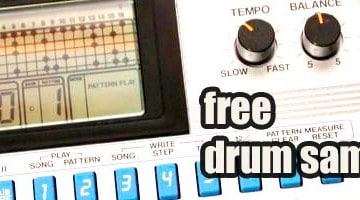 Free House Drums Samples