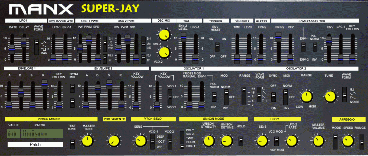 Manx Synthesizers Super-Jay