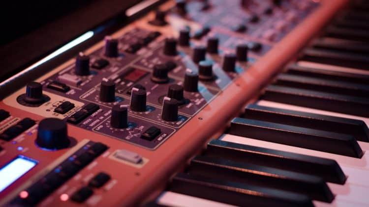 Synthesizer aufnehmen