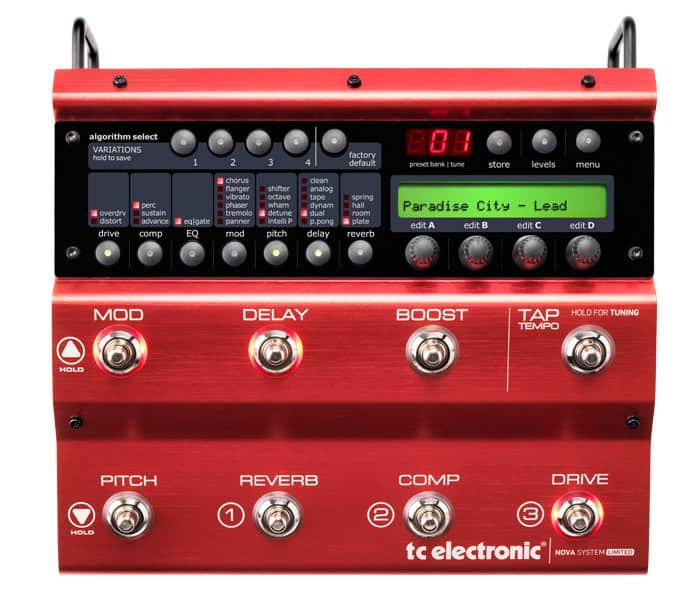 TC Electronic Nova System Limited Edition