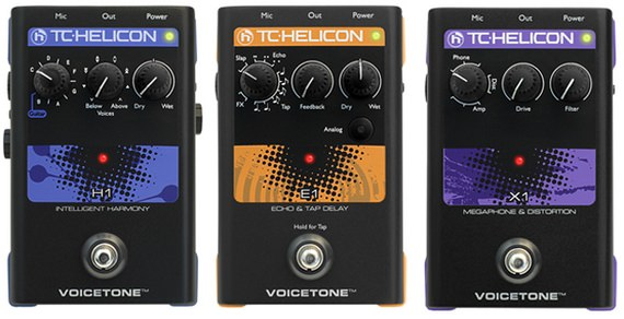 TC-Helicon H1, TC-Helicon E1, TC-Helicon X1