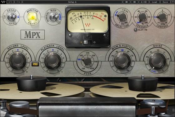 Waves MPX Tape Plugin Bandsättigung