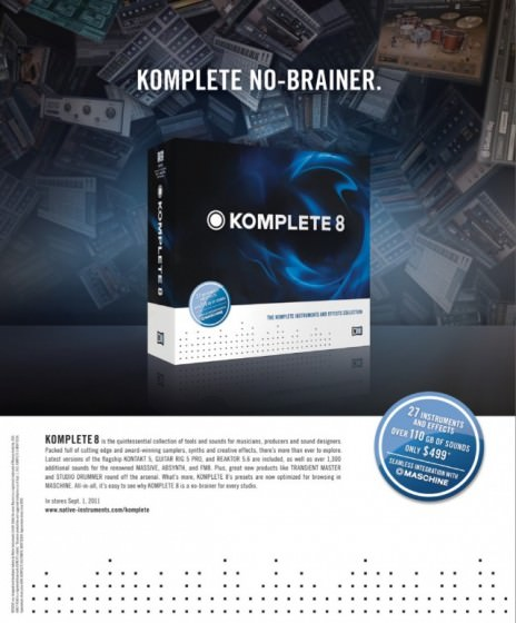 Native Instruments Komplete 8 Standard
