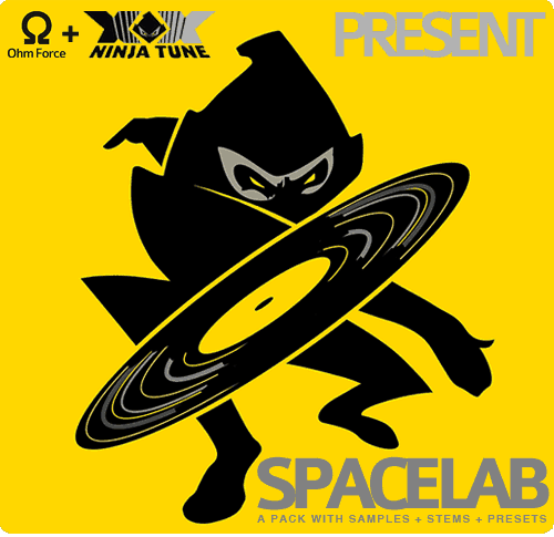 Ohm Force & Ninja Tune - Spacelab
