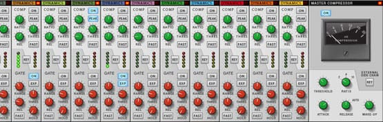 Propellerhead Reason 6 Mixer