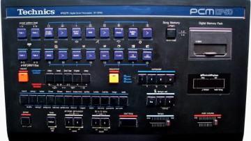 Technics DP50 Drum Machine Sounds