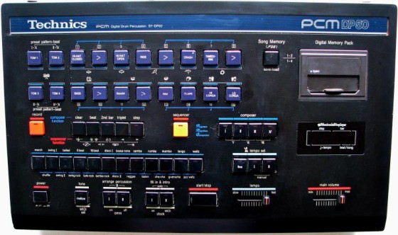 Technics DP50 Drum Machine Sounds
