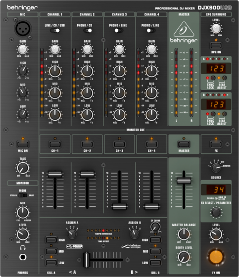 Behringer Pro Mixer DJ900USB