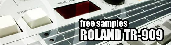 Free Samples TR-909 Drum Machine