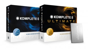Native Instruments Komplete 8 & Komplete 8 Ultimate Box