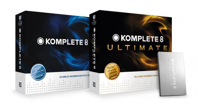 Native Instruments Komplete 8 & Komplete 8 Ultimate Box
