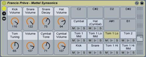 Mattel Synsonics Live Rack