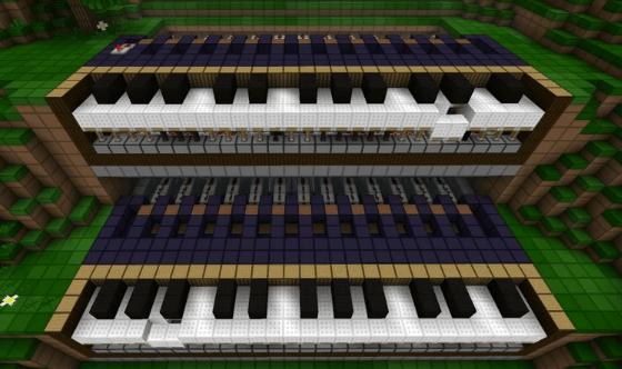 Minecraft Piano