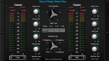 Sound Magic Meter Man