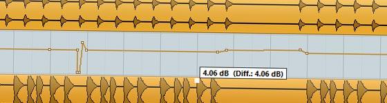 Lautstärke angleichen in der DAW-Software