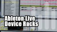 Ableton Live Tutorial Device Racks, Instrument Racks