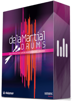 delaMartial Drums Drum Samples