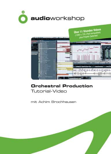 audio-workshop Orchestral Production Tutorial-Video DVD