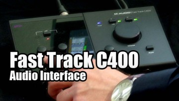 Fast Track C400 USB Audio Interface