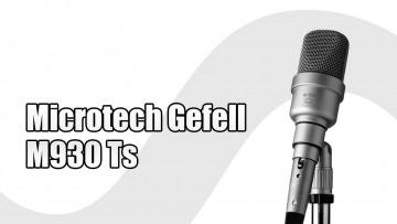 M930 Ts Grossmembrankondensator Mikrofon Microtech Gefell