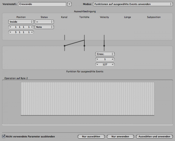 MIDI bearbeiten & Quantsierung in Logic