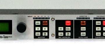 Tascam TA-1VP Frontseite