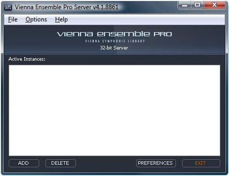Vienna Ensemble Pro Server-Software