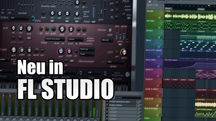 Neuerungen in FL Studio