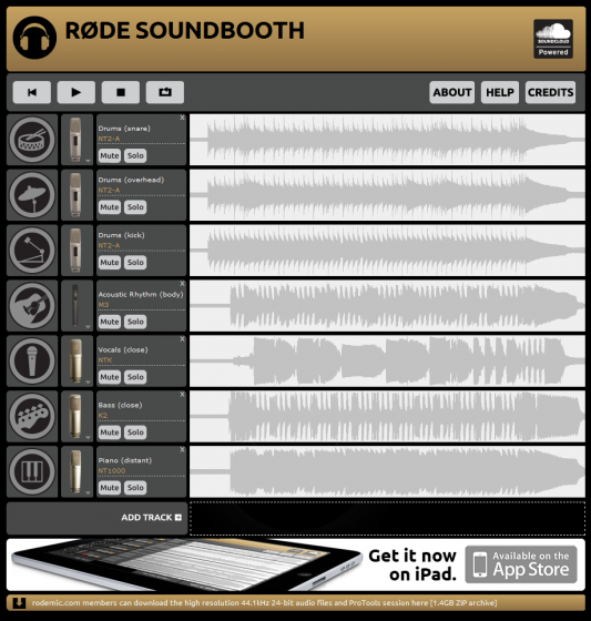RØDE Soundbooth