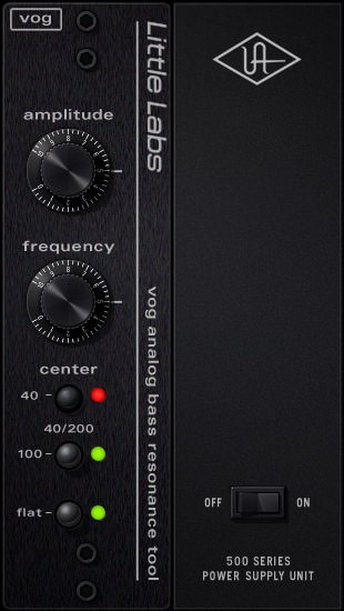 Universal Audio Little Labs Voice Of God Bass Resonance
