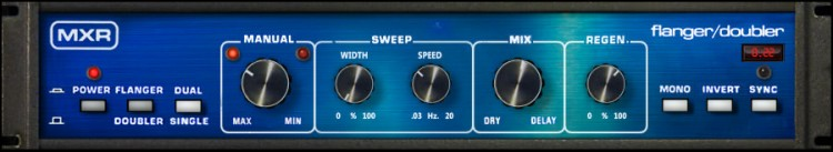Universal Audio MXR Flanger/Doubler