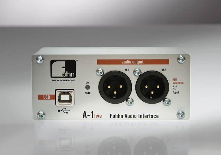 Fohhn A-1 live
