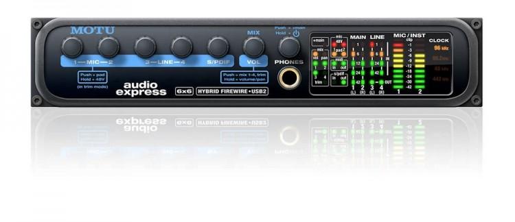 MOTU Audio Express Testbericht