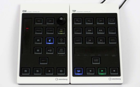 Steinberg CMC CH Testbericht Channel Controller
