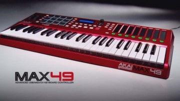 Akai MAX49 Keyboard Controller