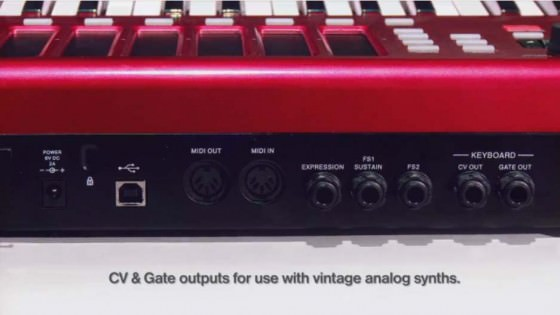 Akai MAX49 - Keyboard Controller