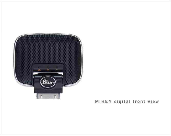 Blue Mikey Digital Mikrofon für iPhone, iPod