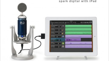 Blue Spark Digital USB Mikrofon für PC, Mac & iPad
