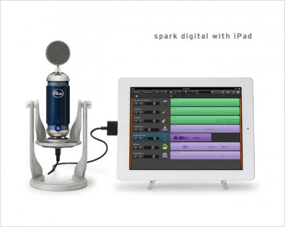Blue Spark Digital USB Mikrofon für PC, Mac & iPad