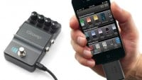 Digitech iStomp Gitarren Interface für iPhone